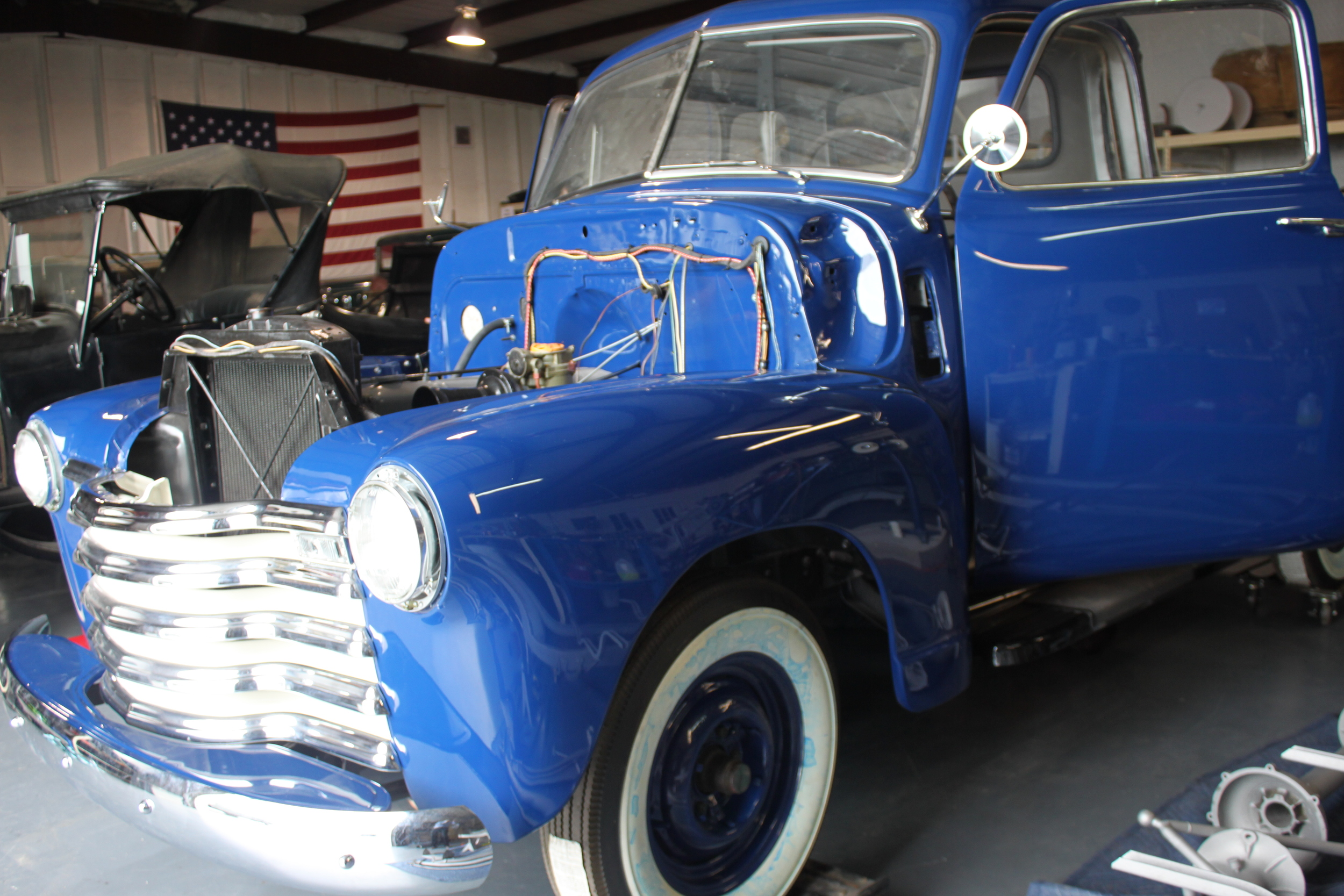 The 1949 Chevrolet Pickup.