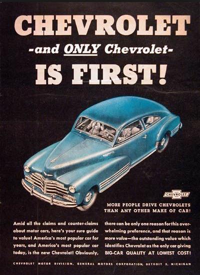 Chevrolet Restomod ad