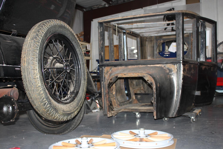 1923 Ford Model T Center Door