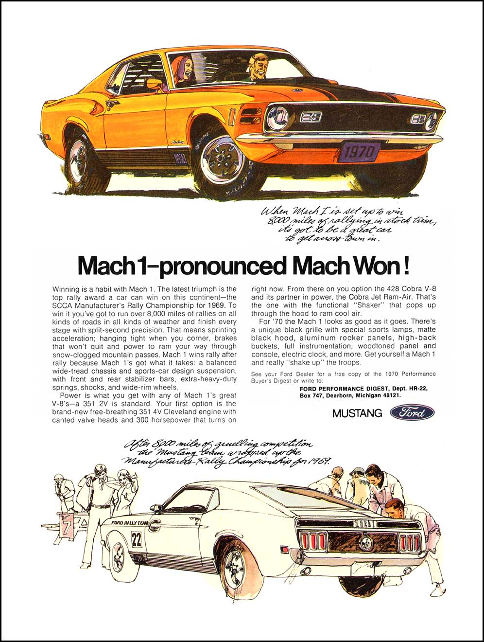 Mustang Mach ad