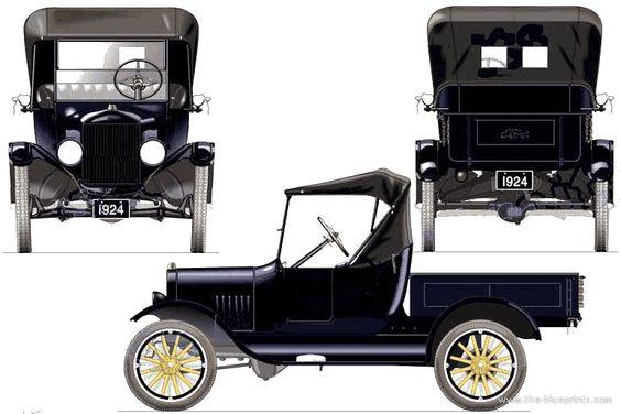Vintage Model T Truck