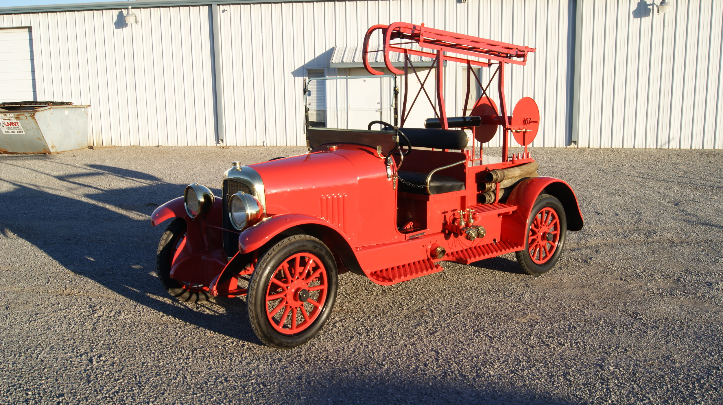 Restored 1924 Delahaye Fire Engine