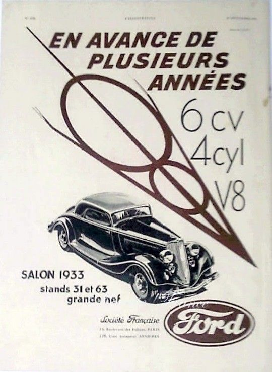 Ford Coupe ad