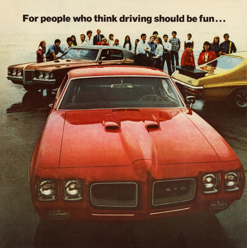 Pontiac GTO ad