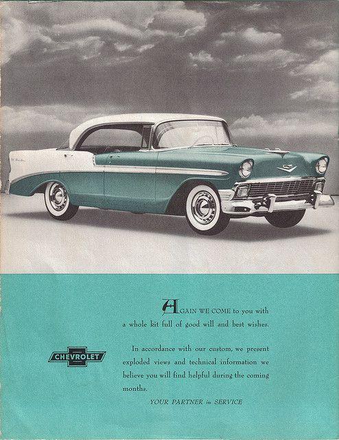 1955 Bel Air ad