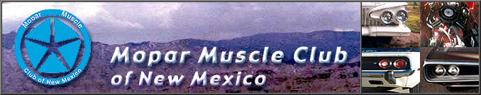 Mopar Muscle Club of New Mexico