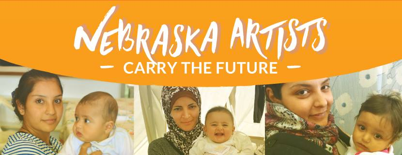 Nebraska Artists Carry the Future  November 17th 5-8pm  Lincoln Country Club  Exceptional Nebraska artists come together for a one of a kind pop-up gallery in support of refugee women and children around the world. 30% of all sales will be donated to  Carry the Future ,an organization that provides humanitarian aid to refugee families. Visit the  Facebook  page for updated information.  Free and open to the public.    Complimentary appetizers and cash bar!