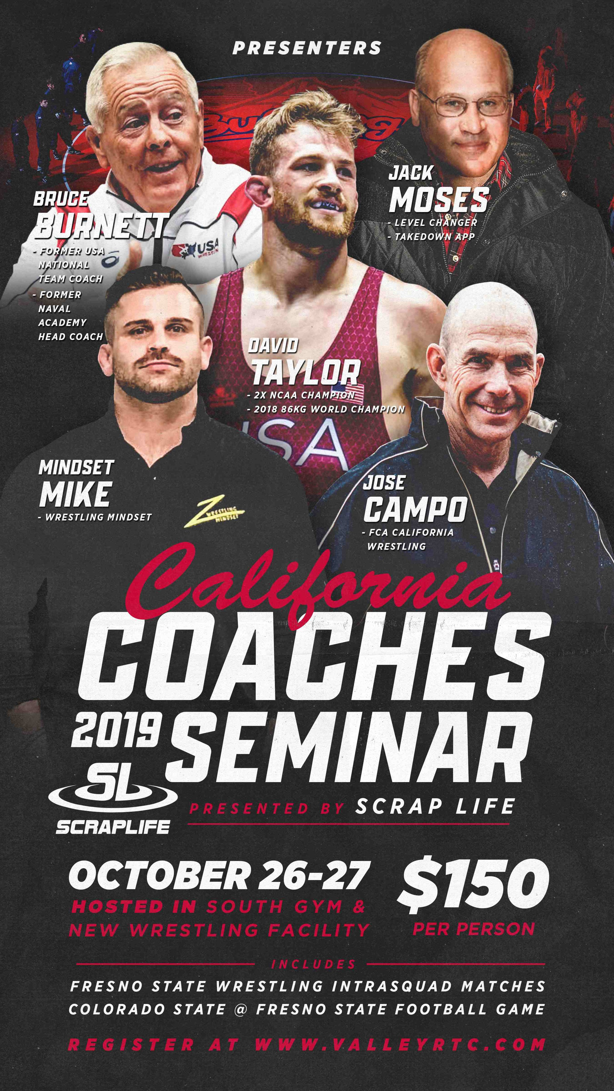 California Coaches Clinic October 2019