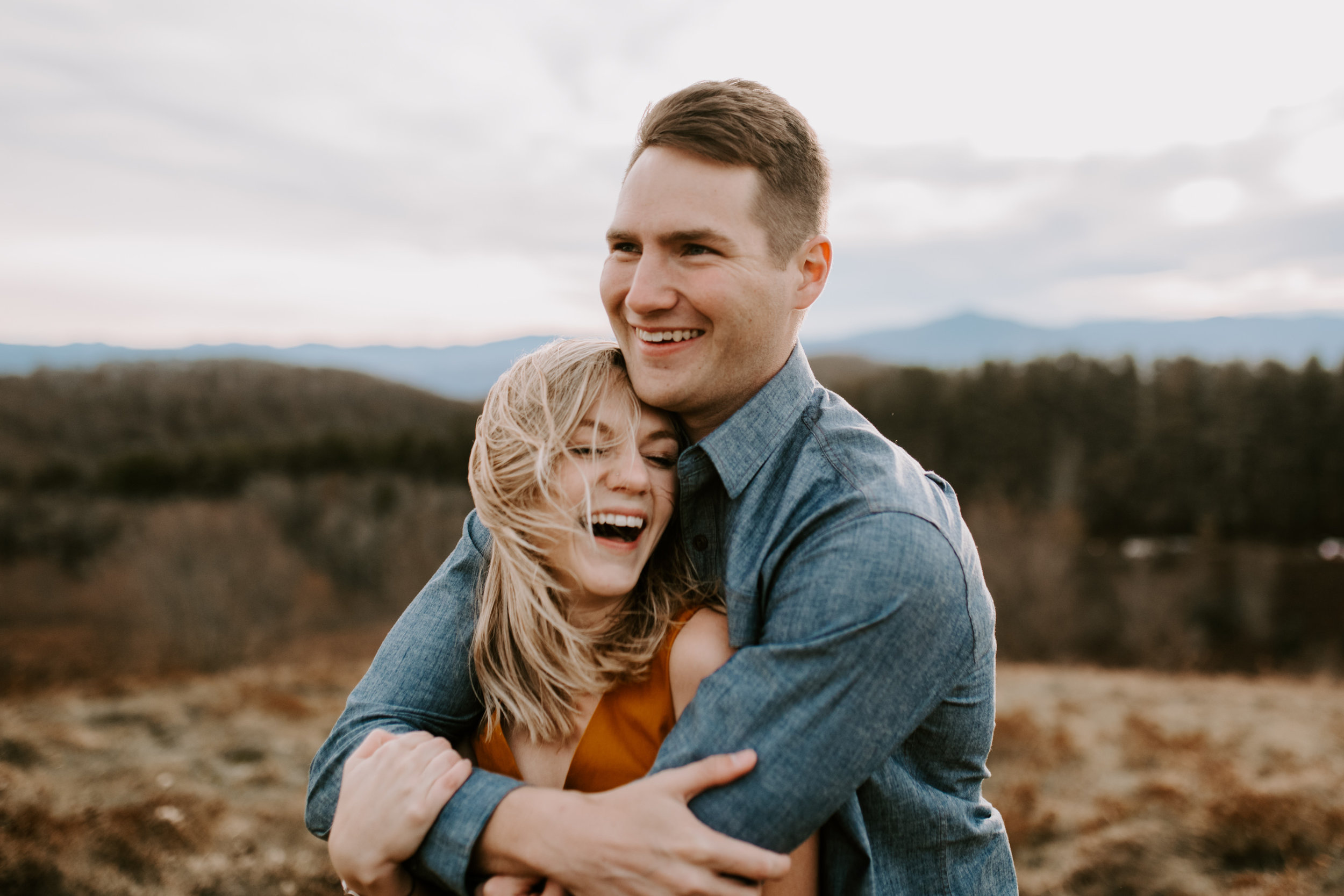 Mountaintop NC Engagement Session