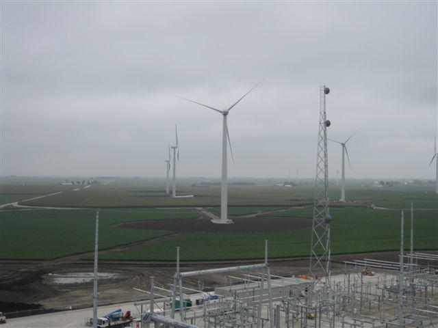 Top Crop Wind Farm, IL