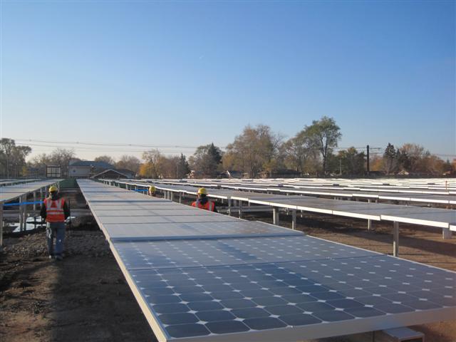 SunPower and Exelon Solar Farm, Chicago, IL