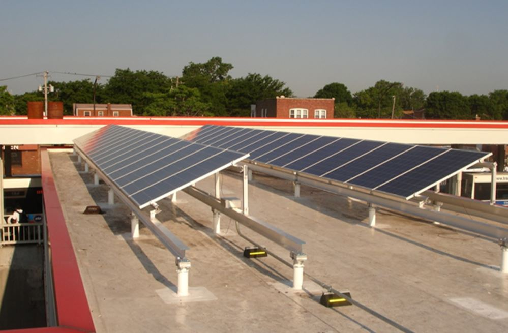 CTA 95th Street Station Solar Project, Chicago, IL