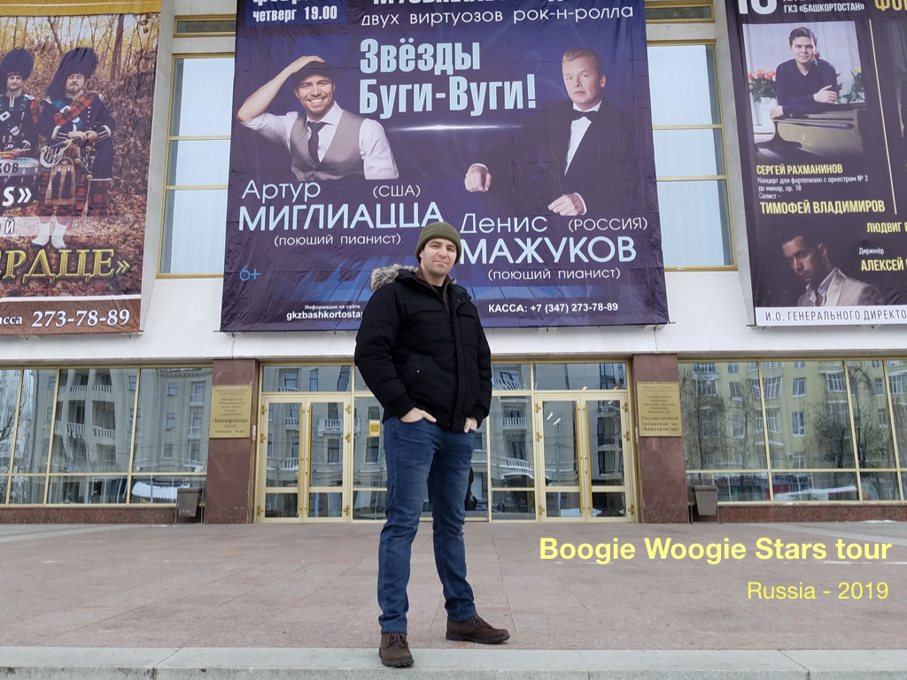 arthur migliazza tour russia boogie woogie stars