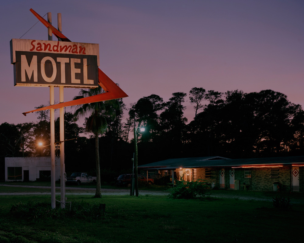 Sandman Motel, (Myths of the Near Future), 2015