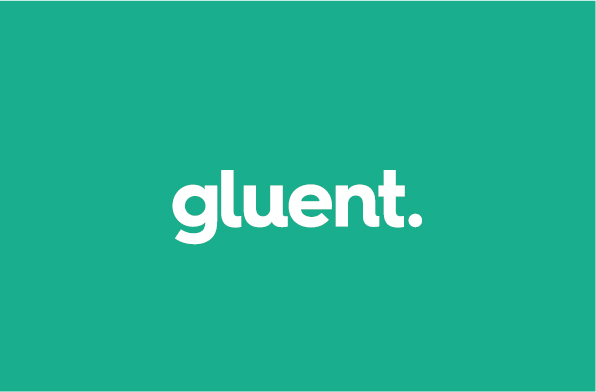 gluent branding and website design