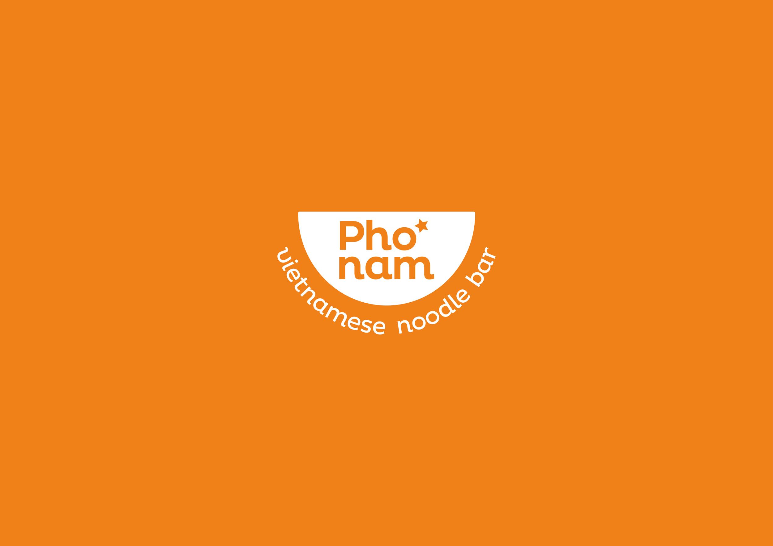 Pho Nam Branding Illustration And Design