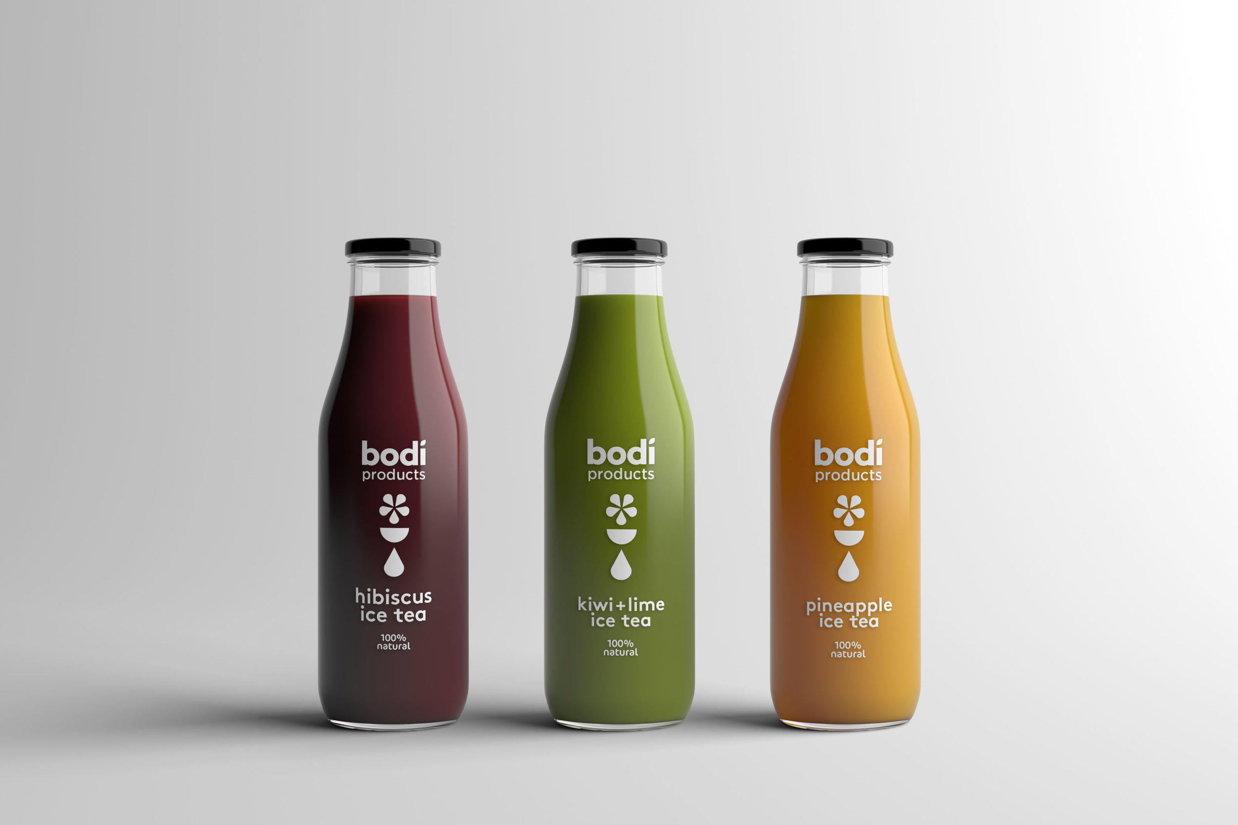 bodi products packaging design and branding
