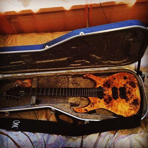 Mayones Duvell Elite 7-sting guitar. www.jknummela.fi