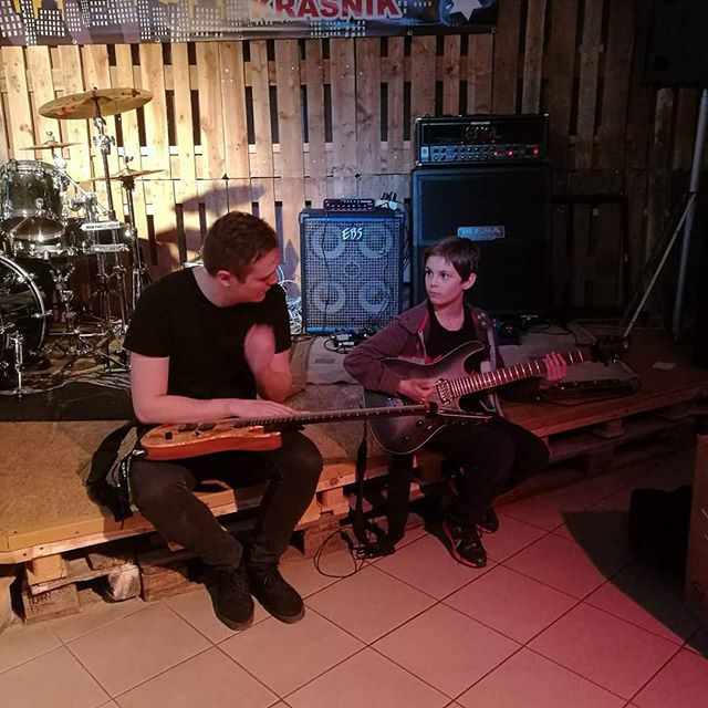 We met our youngest fan yet on this tour today at Piaskowa, Krasnik! Check out his YouTube channel, this boy is an insane guitar player! 🤘See you tonight Krasnik! 🔥🔥🔥#nighon #metal #music #live #poland #krasnik https://www.youtube.com/channel/UCfoQd9T6GPFeXevu_M-MaNA
