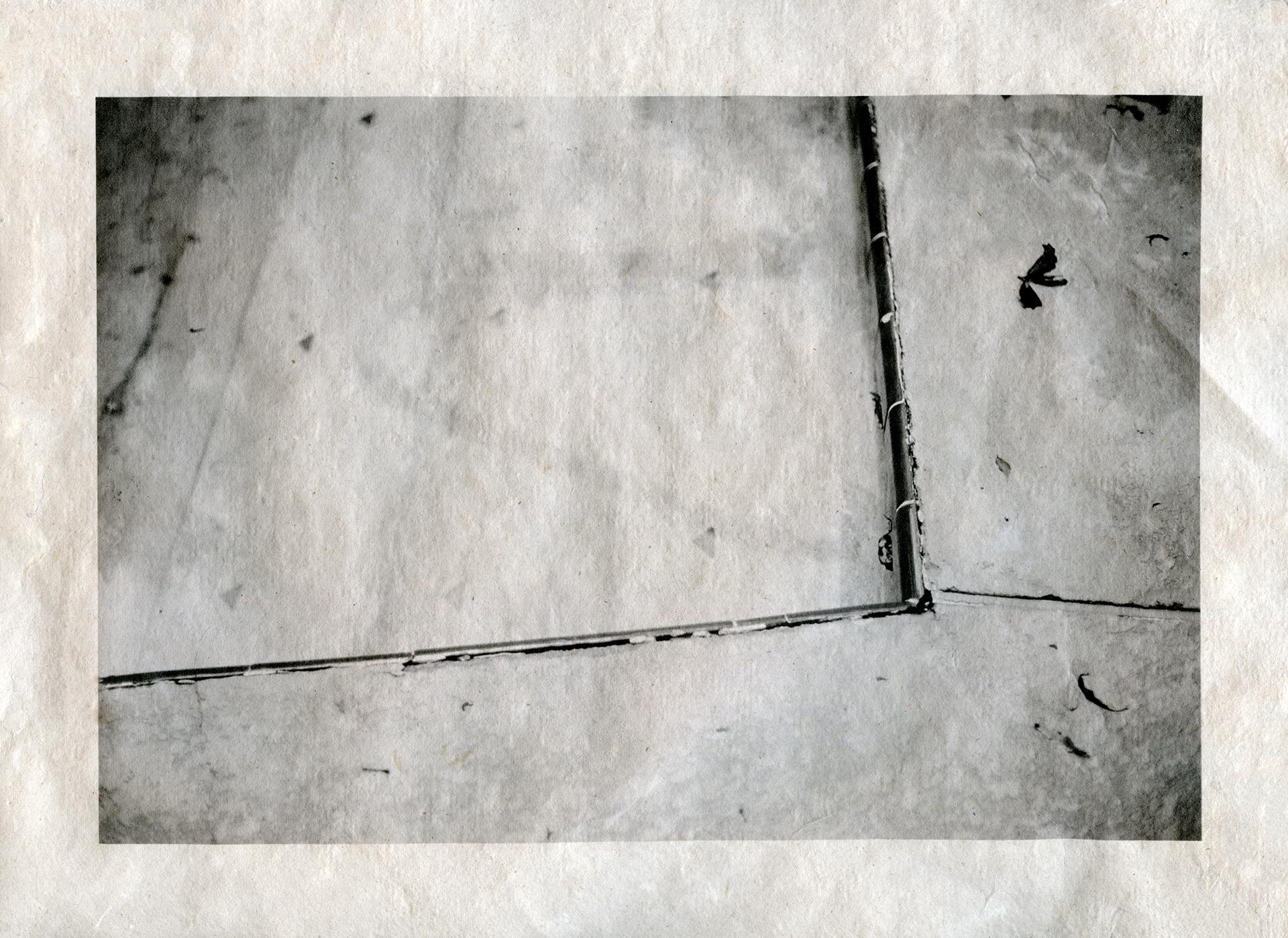 Inkjet print on handmade paper 2013