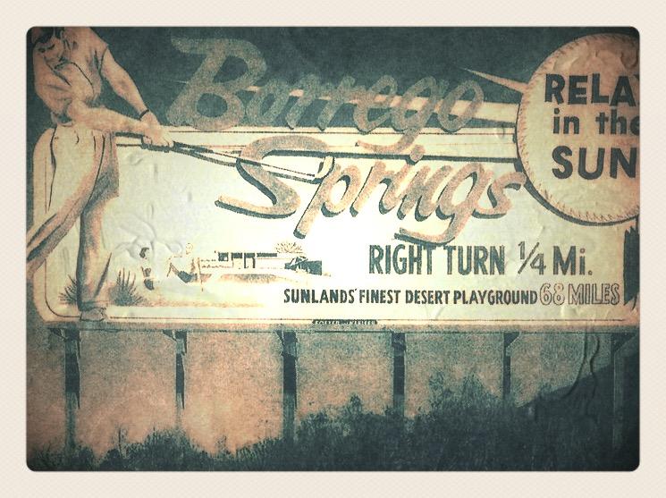 1960's Highway Billboard