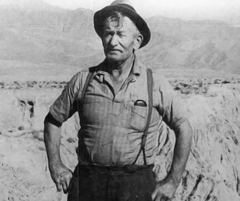 Homesteader Alford Armstrong