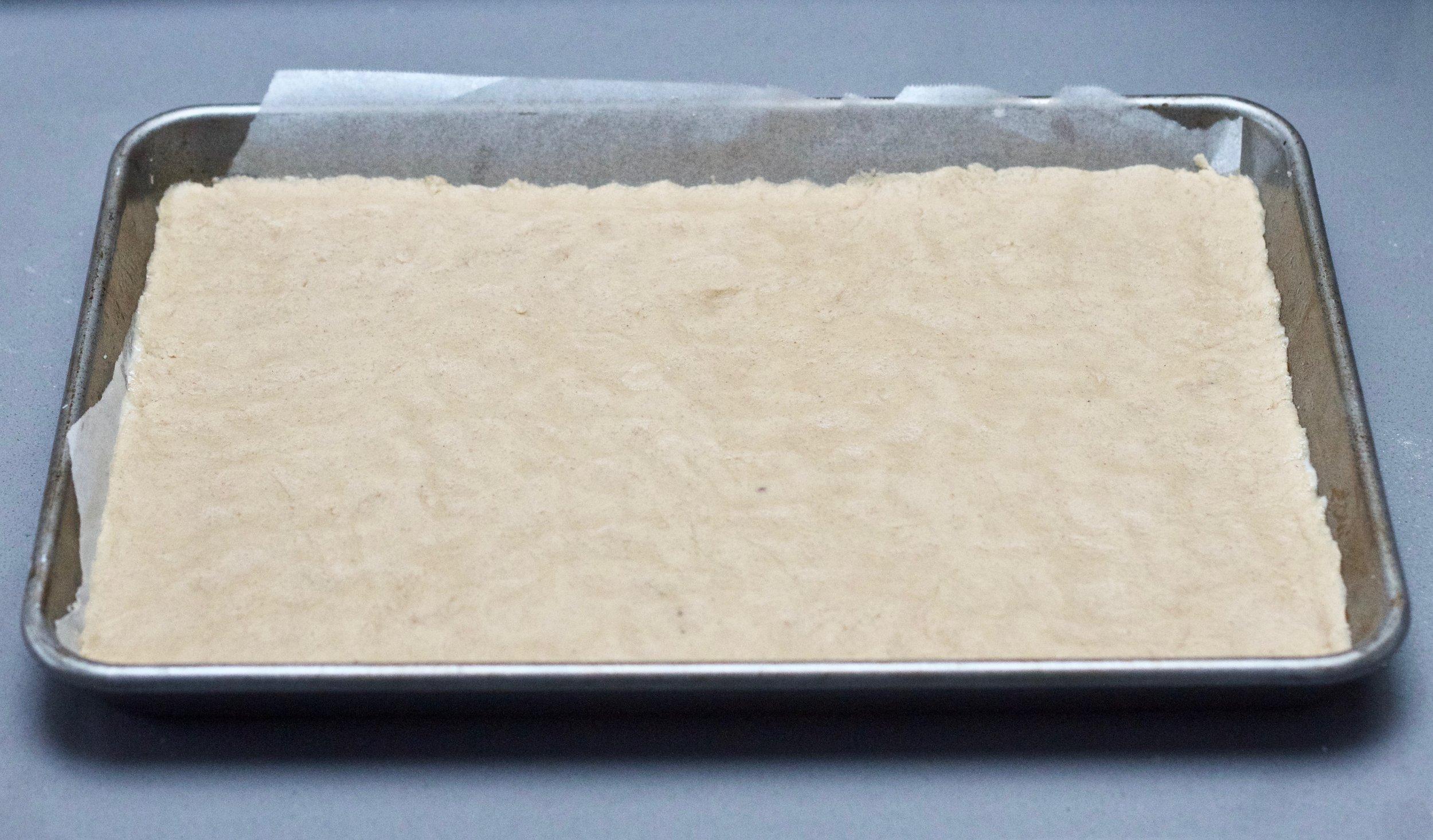 Pre-baked cookie crust
