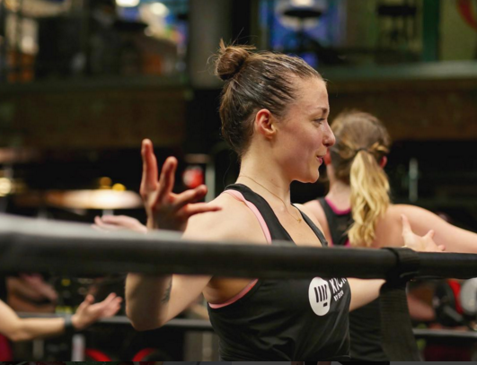 Emily McLaughlin - Kick It with Emily: Wayfair, PO Fitness, Boston, MAFollow her: @emilyatshsh