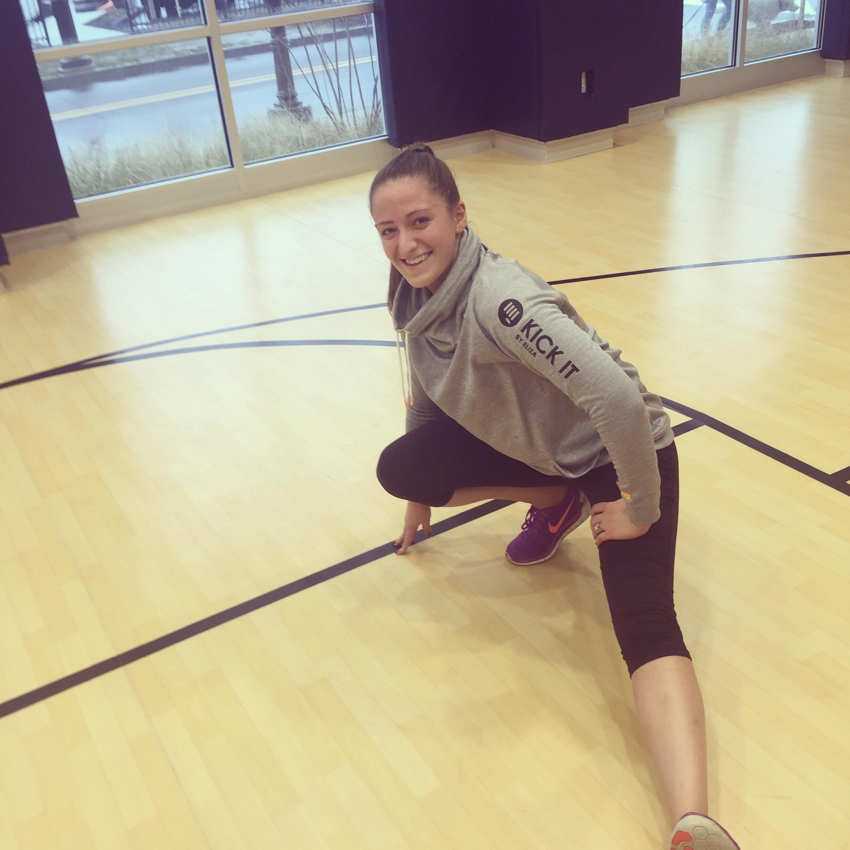 Adelle Girvan - Kick It with Adelle:The Street at Chestnut Hill, Boston, MAFollow her: @fitandfreeadelleg