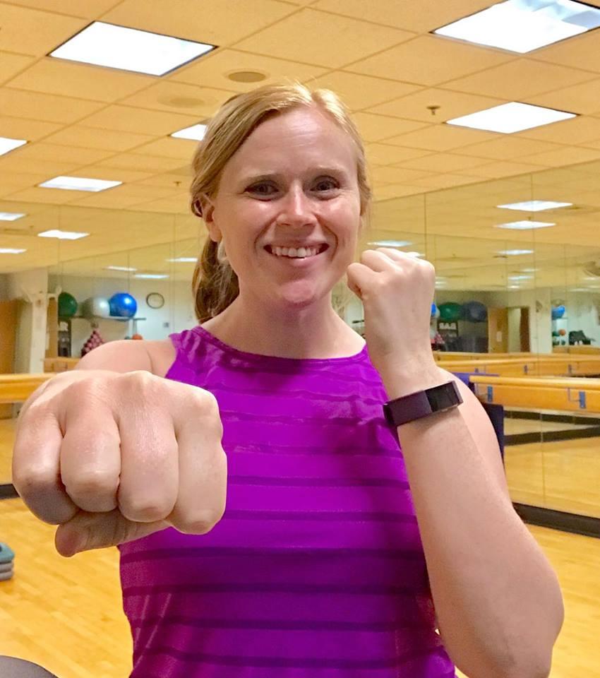 Jennifer Clark - Kick It with Jennifer: Network Drive, Burlington, MAFollow her: @jen_clarky