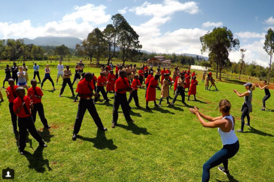 Kick It at Flying Kites (Kenya)