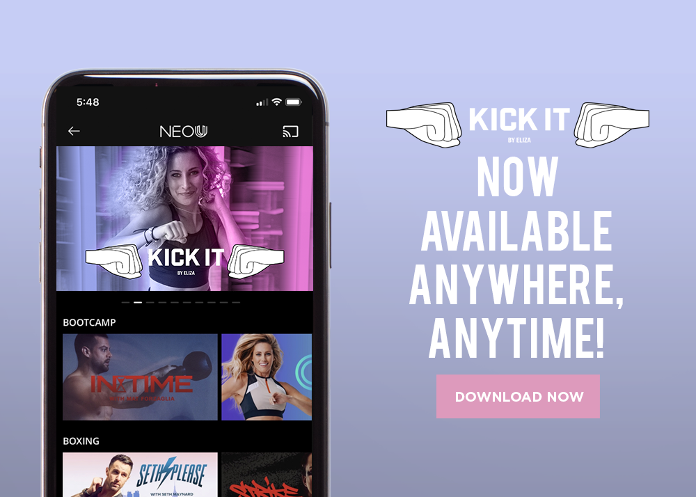 Kick It On Demand — Kick It By Eliza®