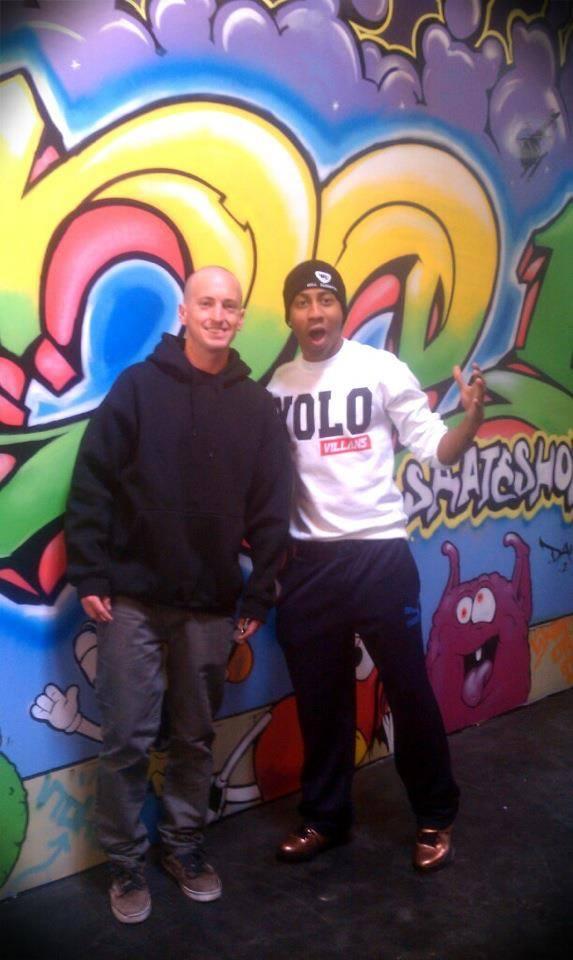 David and Brandon T Jackson