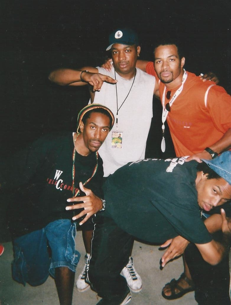 Chuck D,Dana and Dwayne