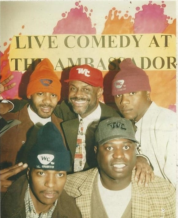 Lucian and Michael Colyar