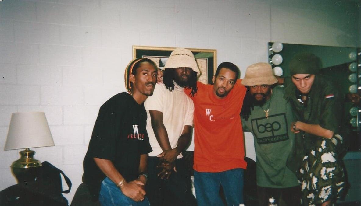 Black Eyed Peas, Dana and Dwayne