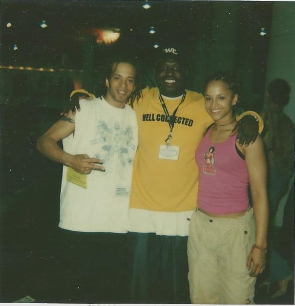 Lucian and Soul Train Dancers