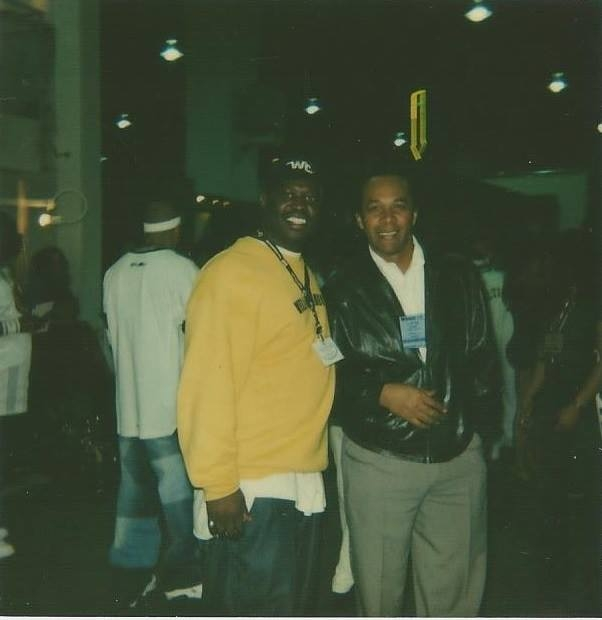 MR.WELLCONNECTED AND CLIFTON DAVIS