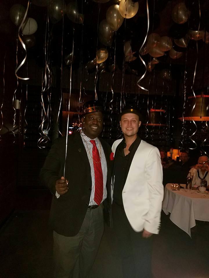 Lucian and Nick Boddington