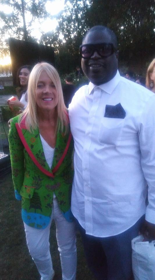 Mayor Lili Bosse and Lucian