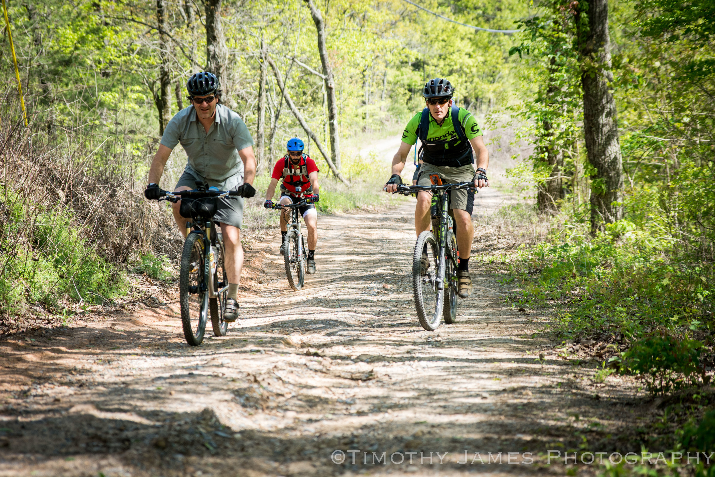 Come for the whole trip, a few days or a few hours. We just want to ride bikes with you. Photo: Timothy James Photography