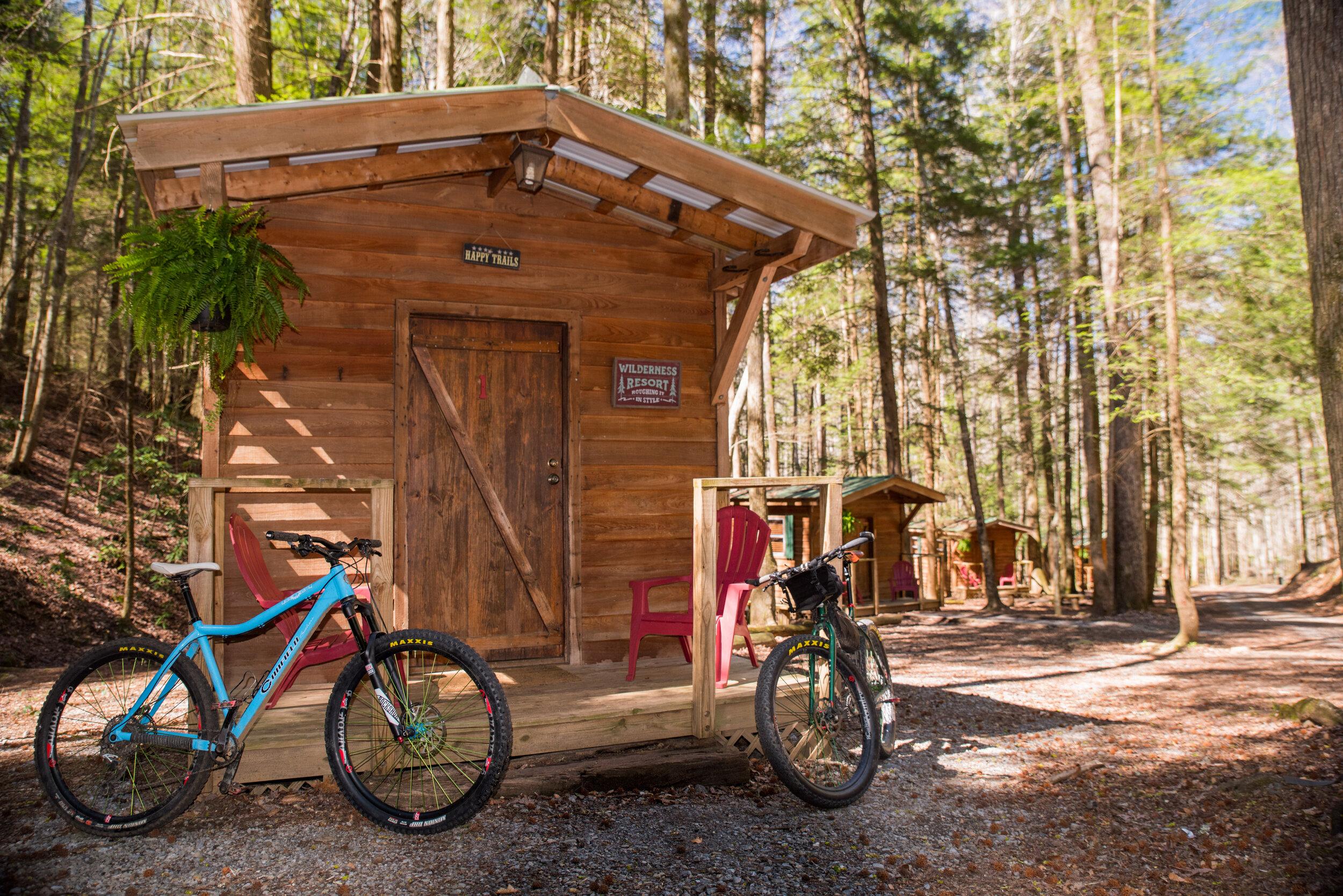 Cabin 1 with bikes.jpg