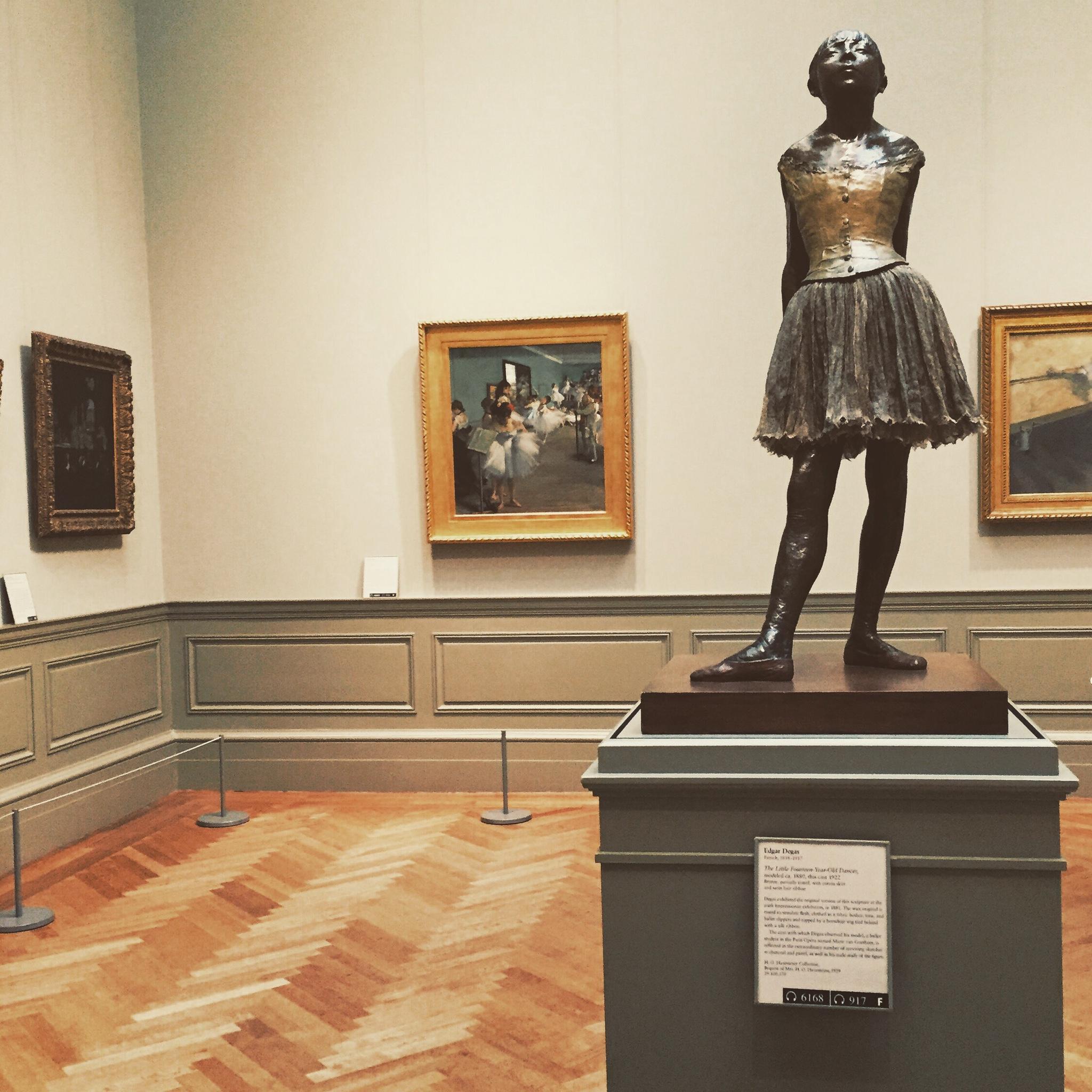 Degas at the Met