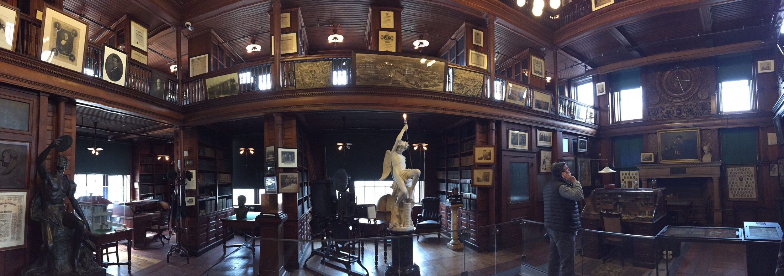 Edison's Library pano