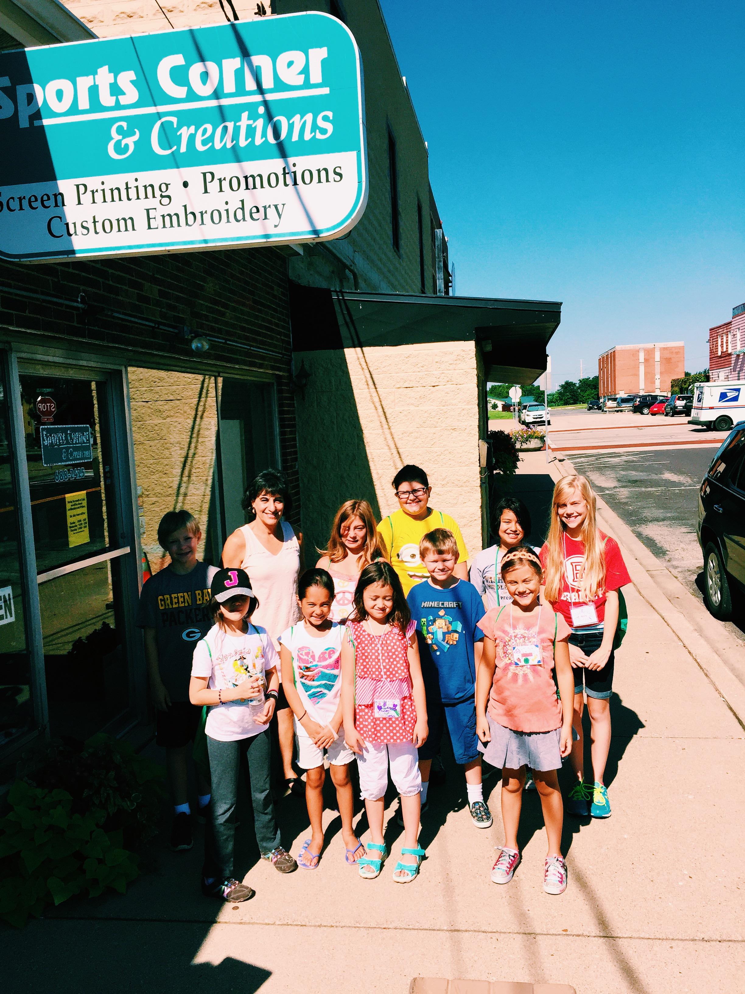 Community Explorers with Karen, Sports Corner & Creations