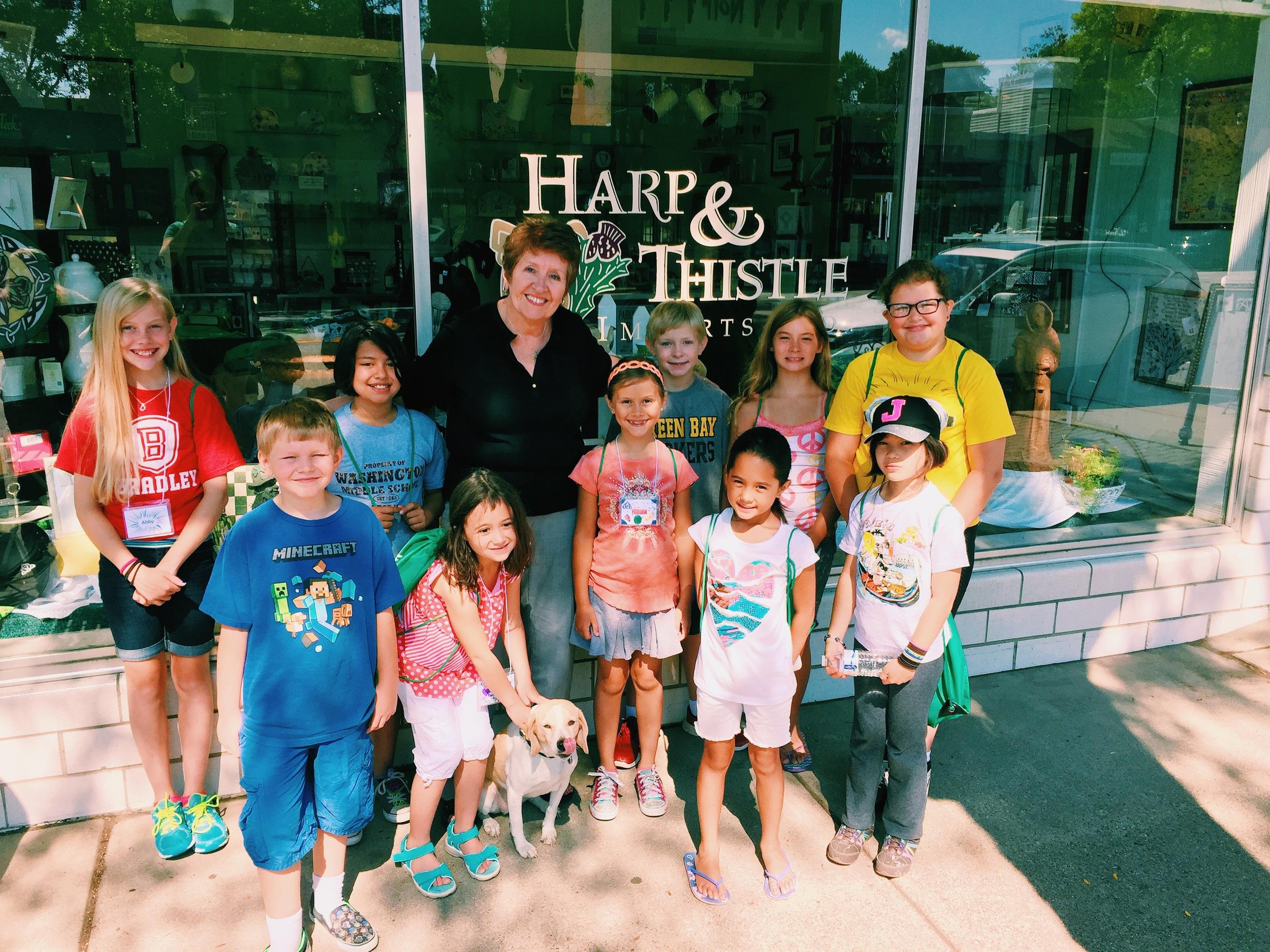 Community Explorers with Betty, Harp & Thistle