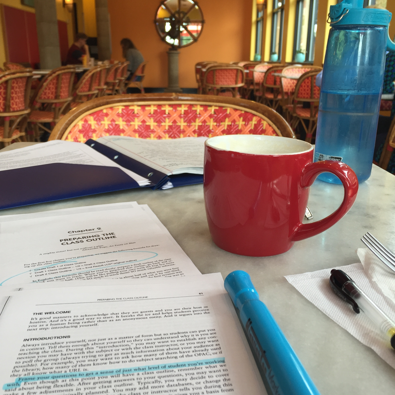 Coffeeshop productivity