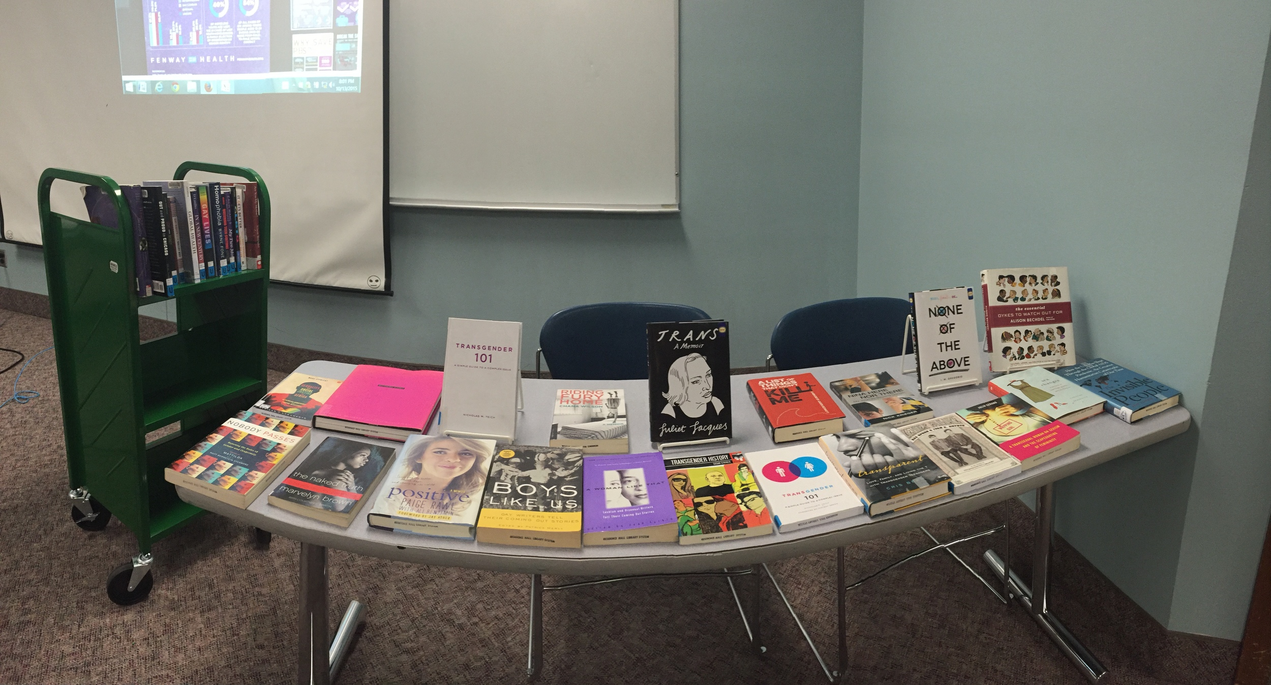 Did I tell you I can make a great book display?