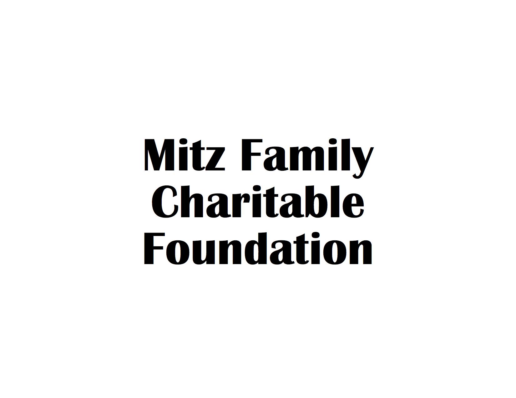 Mitz Family Charitable Foundation Logo.png