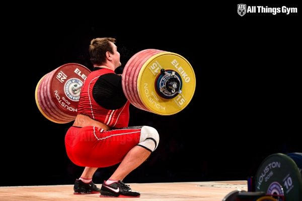 Aleksey Lovchev's 264kg World Record Clean & Jerk this past week at IWF World Championships (via All Things Gym)